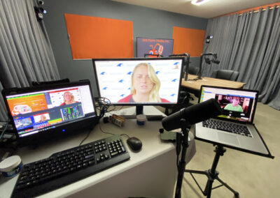 Hybrid Zoom Networking Live Stream Event