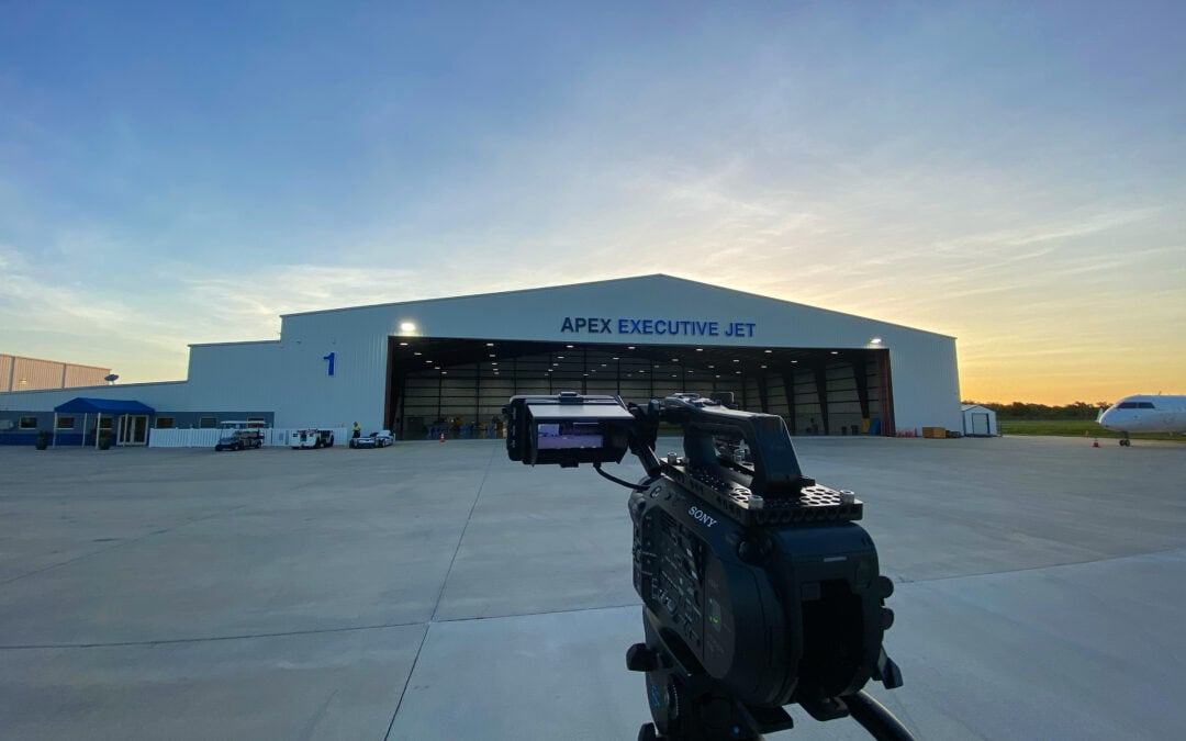 Successful Live Stream from an Airport Hangar